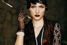 """Twenties party / """"Haven't you heard? I don't have a heart. Everyone knows that."""" Lady Mary"""