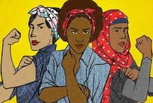 """feminism / """"Feminist: the person who believes in the social, political and economic equality of the sexes."""" ― Chimamanda Ngozi Adichie"""