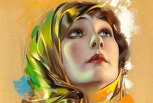 Pin ups - Rolf Armstrong