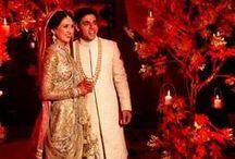 Red wedding ideas / by Poulomi Bhadra