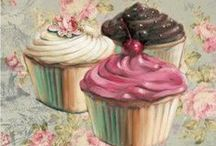 Art - Cupcakes & Macarons / by Peppy