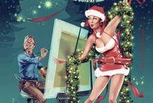 Pin Ups - Christmas