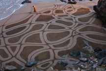 Strand en schelpen