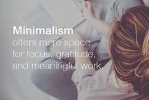 Minimalism / All things relevant to minimalism and my transition from Consumerist to minimalist.