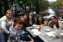 Luscinia Choir / Pins from Luscinia International Women's Choir of The Hague.