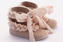 Baby girl shoes / by Modern Baby Meets Vintage