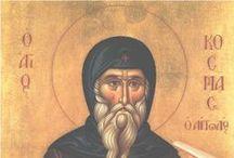 greek orthodox saints