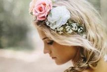 Brides, Bridesmaids and Wedding Hair / Look your best on your big day with these bridal ideas and tips