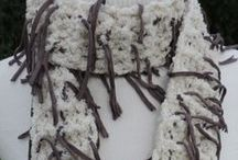 Scarves / Handmade knitted scarves