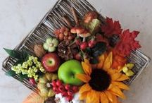 Autumn wreaths / Handmade autumn wreath