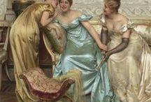 ~1788-1830-Regency Ladies Clothing / Late Georgian/Regency Clothing