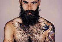 Beards, Mustaches &  Tattoos