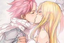 Nalu cute / Natsu x Lucy love