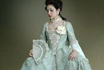 ~1714-1787-Georgian Ladies' Clothing / Georgian Ladies Clothing - this does not include the regency period during King George's illness