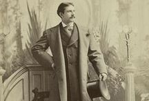 ~1901-1914-Edwardian Mens' Clothing / Edwardian Mens Clothing-Includes the years after King Edward's death in 1910 through to the First World War