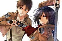 EreMika❤️ / Eren and Mikasa love