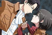 Levi x Mikasa <3 / Levi and Mikasa love