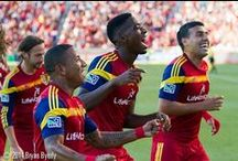 RSL / Real Salt Lake Soccer has to be my favorite team, I've been with them from the start.  And sometimes I post a player from another team that I love too! / by Norma Rankin