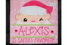 Christmas Designs / Super amazing Christmas embroidery designs. / by Embroitique