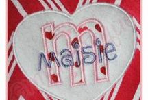 Machine Embroidery - Valentine's Day - Embroitique / Cute and creative Valentine's Day Embroidery Designs! / by Embroitique