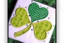 St. Patrick's Day Designs / St. Patrick's Day Embroidery Designs on sale at Embroitique.com / by Embroitique