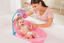Bath & Potty for Baby /  Explore our full range of bath tubs, shower centers, diapering changing solutions, and potties that moms and babies love.  / by Summer Infant
