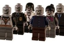 Custom Lego Zombies / Custom Zombies, great little gory gifts for horror fans! Created with LEGO® body parts.