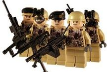 Modern Warfare Lego Figures / A range of modern military custom minifigs. Created using LEGO® parts and some great custom accessories.
