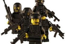 Lego SWAT & Police Figures / A selection of custom SWAT and Tactical figures. Created using LEGO® parts and cool custom accessories.