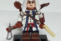 Cool Custom Lego Figures / Some of our favourite custom Lego minifigs and funny Lego related piccies that we've come across on Pinterest and Flickr