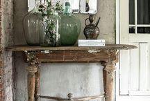 vintage sisustuksessa . vintage interiors