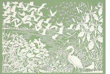 Papiersnijkunst / paper cut / Een speciale manier om papier te bewerken is papiersnijkunst/papierknipkunst. Prachtig!