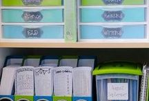 Classroom Organization Tips / Need to organize your classroom?  Here are some great tips, tricks, and ideas I've found!