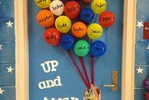 Hallway Display Ideas / Ideas for hallway displays and displaying student work.