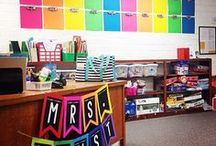 Great Classrooms / Classroom inspiration for set up, decorations, organization, seating options, etc...
