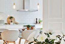Home dining area / Eetkamer-inspiratie www.alleeetkamerstoelen.nl