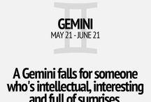 Gemini sign.