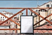 STUDIO SAŌR-projects #01 - (other) venetian lagoon islands / lonely islands of the venetian lagoon:  series of unique A2 prints of the unknown islands around venice.  included in packaging: two cut-out bookmarks, one booklet with brief description of the project, one numbered and marked island's poster.