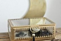 Boites et porte-bijoux / Toutes les mignonneries pour ranger avec élégance bijoux et petits trésors...