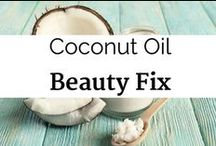 Coconut Oil Beauty Fix / coconut beauty products, coconut oil for beauty, coconut oil face mask, coconut oil body butter, coconut oil hair mask, coconut oil for damaged hair, coconut oil moisturizer, homemade coconut oil cosmetics, coconut oil beauty recipes,  coconut oil body scrub, coconut oil beauty hacks, coconut oil beauty tricks and tips, beauty uses for coconut oil, benefits of using coconut oil, coconut oil vitamins minerals, best coconut oil, virgin coconut oil, coconut oil skin care, coconut oil acne treatment