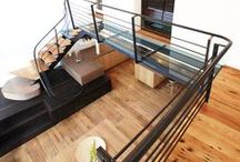 Our Work- Staircases/Railings / A collection of staircases for residential and commercial purposes.