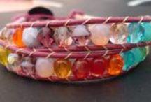 Herringbone stitch bracelet