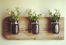 Mah-velous Mason Jars / Share your project with our followers. Send a link to kmanning at advantus dot com.