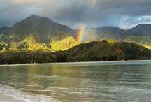 Hawaii / One word: luaus.