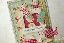 Handmade Holidays / Share your Christmas cards, tags, wraps and gifts with us all. Email a link to your project to kmanning at advantus dot com.