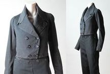 1790 to 1815 Mens Dress. / Regency Period Mens Dress, Accessories, etc. —Fashion and Everyday wear.