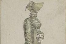 Ladies Dress 1790 to 1815.