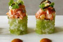 sushi / by Amira Ahmed Fathy