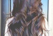 Curls e estilo / Idéias de penteados e estilos de cabelo que curto