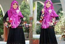 Hijab Syar'i / Membingkai Gaya dalam Syari'at ♥ bbm 28ccfd2b ● line aqilacreation ● wa 0823 0000 9229 ♥ hijab fashion ♥ hijab style ♥ hijab inspiration ♥ hijab chic ♥